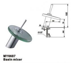 Basin mixer,