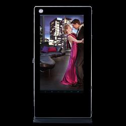 Dual Screen Digital Signage with Camera