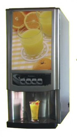 Fruit juice mixing machine
