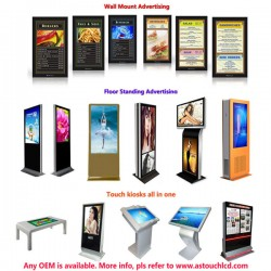 Lcd media player/ advertising display/ digital signage with wifi/3G/Android/ Ethernet