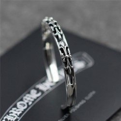 2016 Chrome Hearts 6mm Three Cross Skinny Bangle for Women Chirstmas Gift – $103.00 : Chro ...
