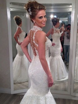 Best Mermaid Wedding Dresses Canada Online | Pickeddresses
