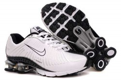 Kid's Nike Shox R4 Shoes White/Black TB613X,Shox,Jordans For Sale,Jordans For Cheap,Nike A ...