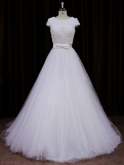 Simple A-Line Wedding Dresses and Gowns Online by Pickweddingdresses