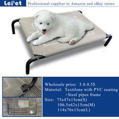 elevated dog bed,raised dog bed,Elevated Pet Dog camping cot wholesale supplier manufacturer