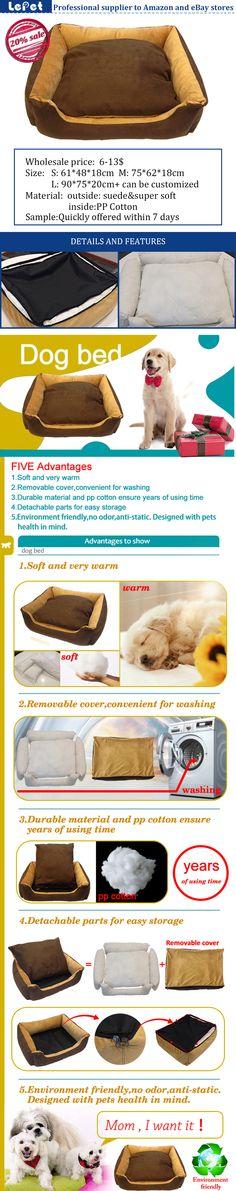 luxury dog bed pet sofa cozy washable large pet dog bed wholesale supplier manufacturer china