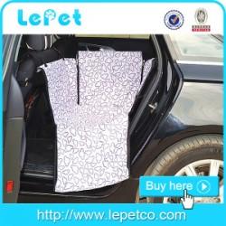 600D Oxford Waterproof pet Hammock Rear Car Seat Cover dog seat covers for car hammock
