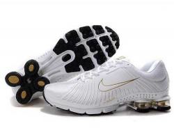Men's Nike Shox R4 Shoes White/Yellow 36J1Q0,Shox,Jordans For Sale,Jordans For Cheap,Nike  ...