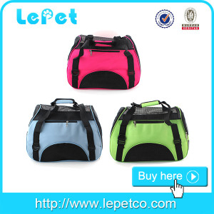 Portable Dog Carrier Pet Travel Bag/dog carrier airline approved/soft pet carrier