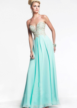 US$145.99 2015 Sweetheart Chiffon Appliques Champagne Black Mint Ruched Floor Length