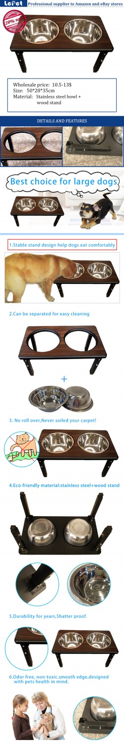 Dog bowl wholesale elevated dog bowls raised dog bowl stand manufacturer wholesale