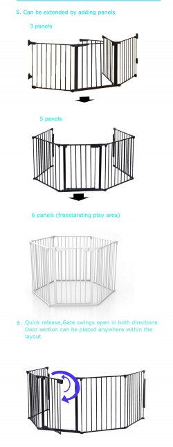 Pet Door for dogs pet safety door baby safety gate lockable safe flap wholesale supplier