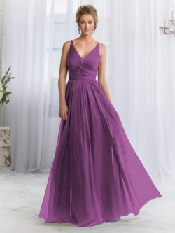 Deep V-neck Bridesmaid Dresses with or without sleeves UK Online   Dressfashion