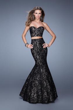US$177.99 2015 Floor Length Lace Ruched Black Sweetheart Sleeveless Mermaid