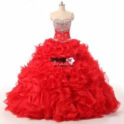 Wholesale 2017 Sweet 15 Dress Custom New Quinceanera Dresses Formal Prom Party Ball Prom Gown We ...