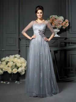 Kleider für Brautmutter mit Jacke 2017, Brautmutterkleider für Mollige Große Größen
