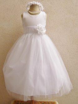 Robe de bouquetières en ligne pour mariages, Robe cortège fille