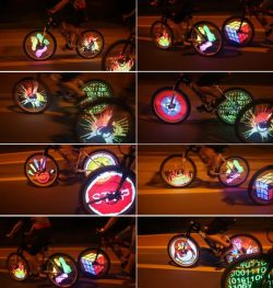 Programmable Bicycle Wheel LED Light Waterproof
