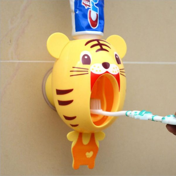 Cartoon Automatic Toothpaste Dispenser – Products Marketplace