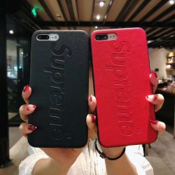 Coque iphone 8/x/x plus marque burberry luxe