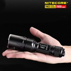 NITECORE TM03 2800 Lumens lampe torche tactique