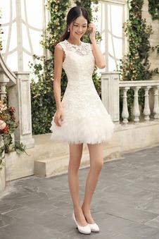 Abiti da sposa corti, Vestiti da sposa corti davanti