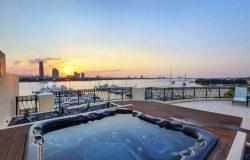3 Bedroom Ocean View Villa with Pool in Main Beach, Gold Coast