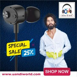 U&I Armour Series Ui-387 Universal Supper Bass Earphone