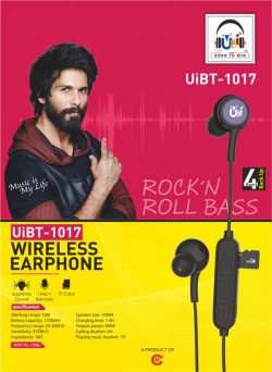 U&I Wireless Earphones – Rock N Roll Bass UiBT- 1017