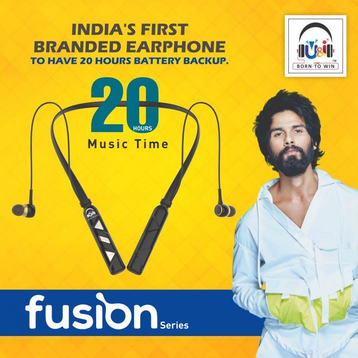 U&I UiNB-2637 Bluetooth Wireless Headphones at Lowest Price – Fusion Series