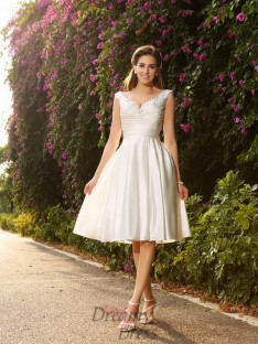 Robes de mariée courte pas cher – DreamyDress