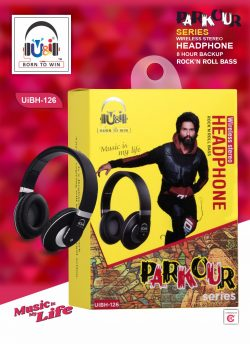 U&I UiBH-126 Parkour Wireless Stereo Headphone Bluetooth Headset with Mic