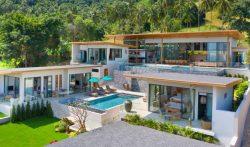 6 Bedroom Hillside Villa with Infinity Pool in Koh Samui, Thailand