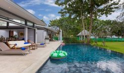 12 Bedroom Oceanfront Home with Pool in Natai Beach, Phuket, Thailand